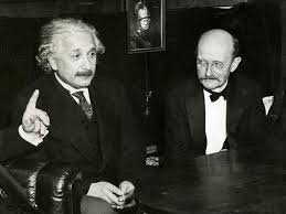 Max Planck with Alvert Einstein, Diary of The Universe